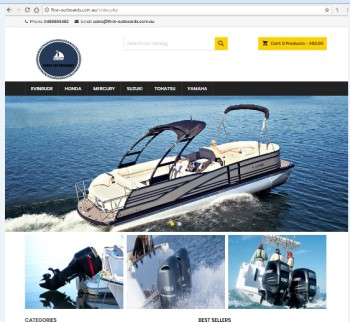 Fake website first outboards cropped