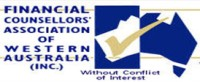 Financial counselors association of Western Australia logo