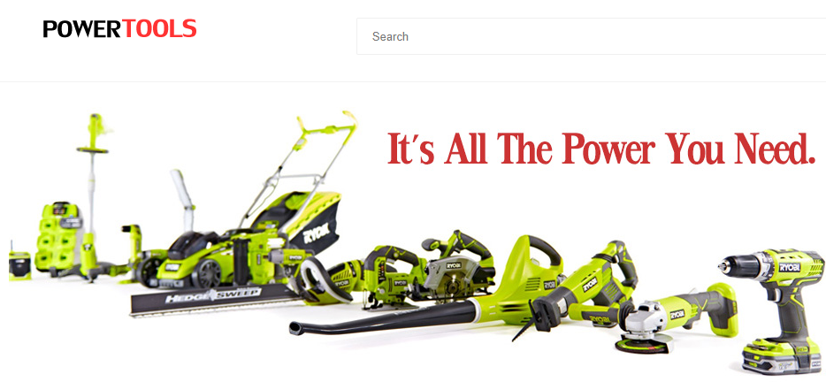 Fake power tools websites