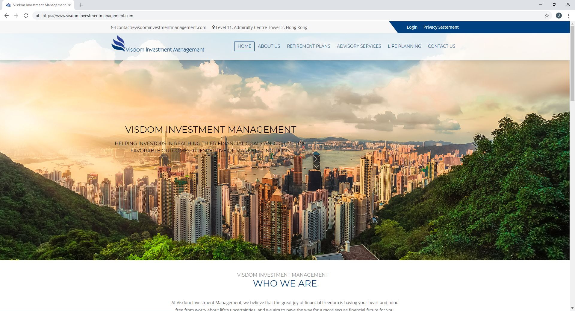 Visdom Investment Management, Chicago