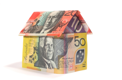 A house built out of Australian money