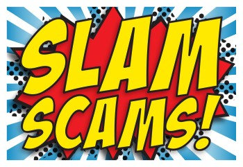 slam scams logo