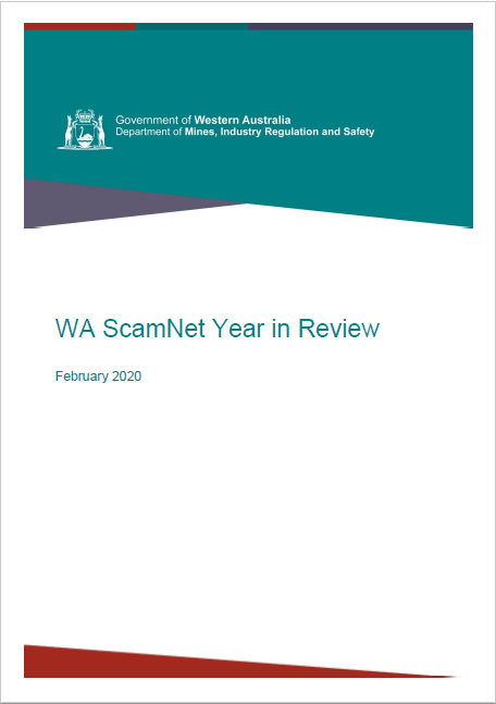 2019 WA ScamNet Review image