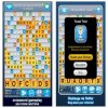 screenshot of words with friends game app
